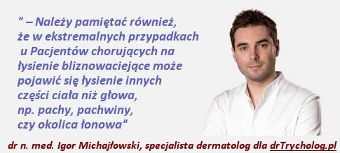 drTrycholog - Portal o Leczeniu łysienia i wypadaniu włosów